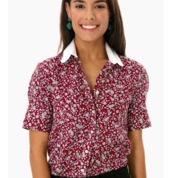 4e3c63e6b8809f The Shirt by Rochelle Behrens Tops | Rochelle Behrens Berry Floral ...